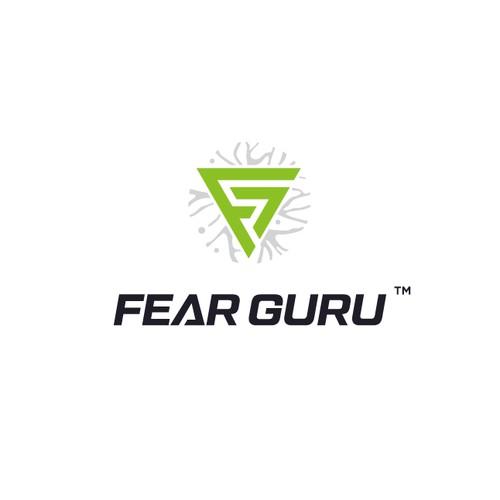 Supar hero FearGuru Logo
