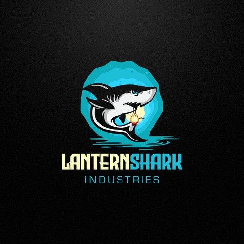 LanternShark Logo Design