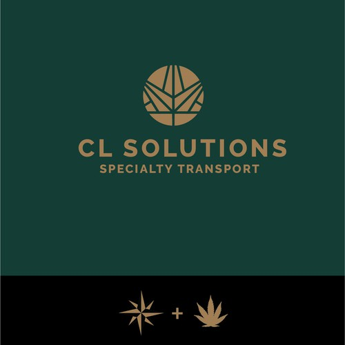 Logo mark for a cannabis logistics company