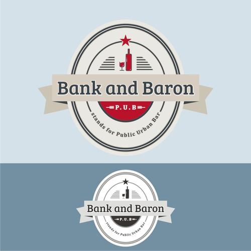 New logo wanted for Bank and Baron p/u/b