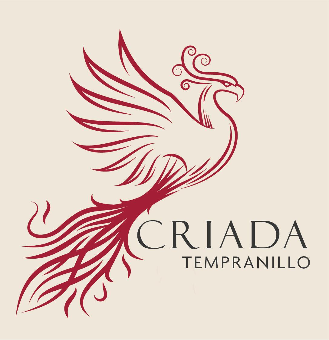 Wine label design for our Criada wine