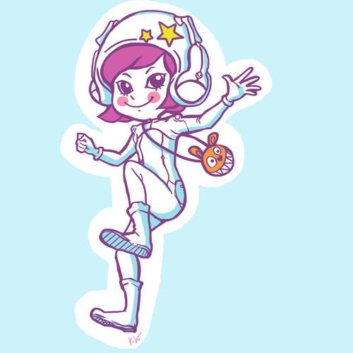 little star girl