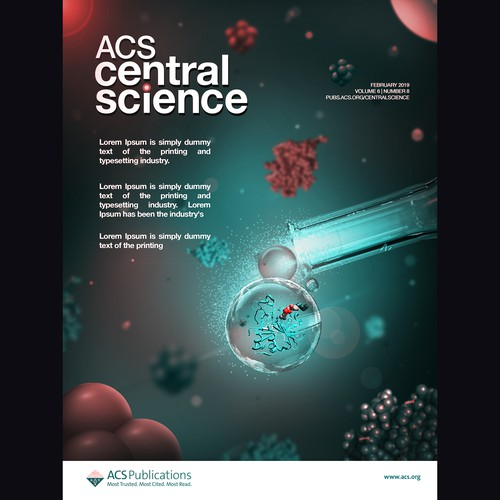 Scientific Journal Cover Concept
