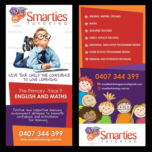 Samrties Rack Card Design