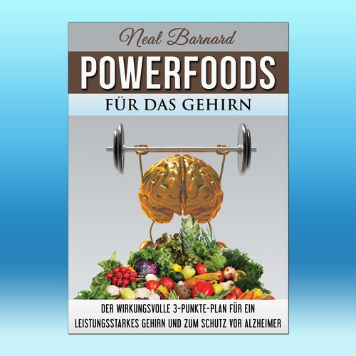 We need a cover for a book about powerfoods for the brain