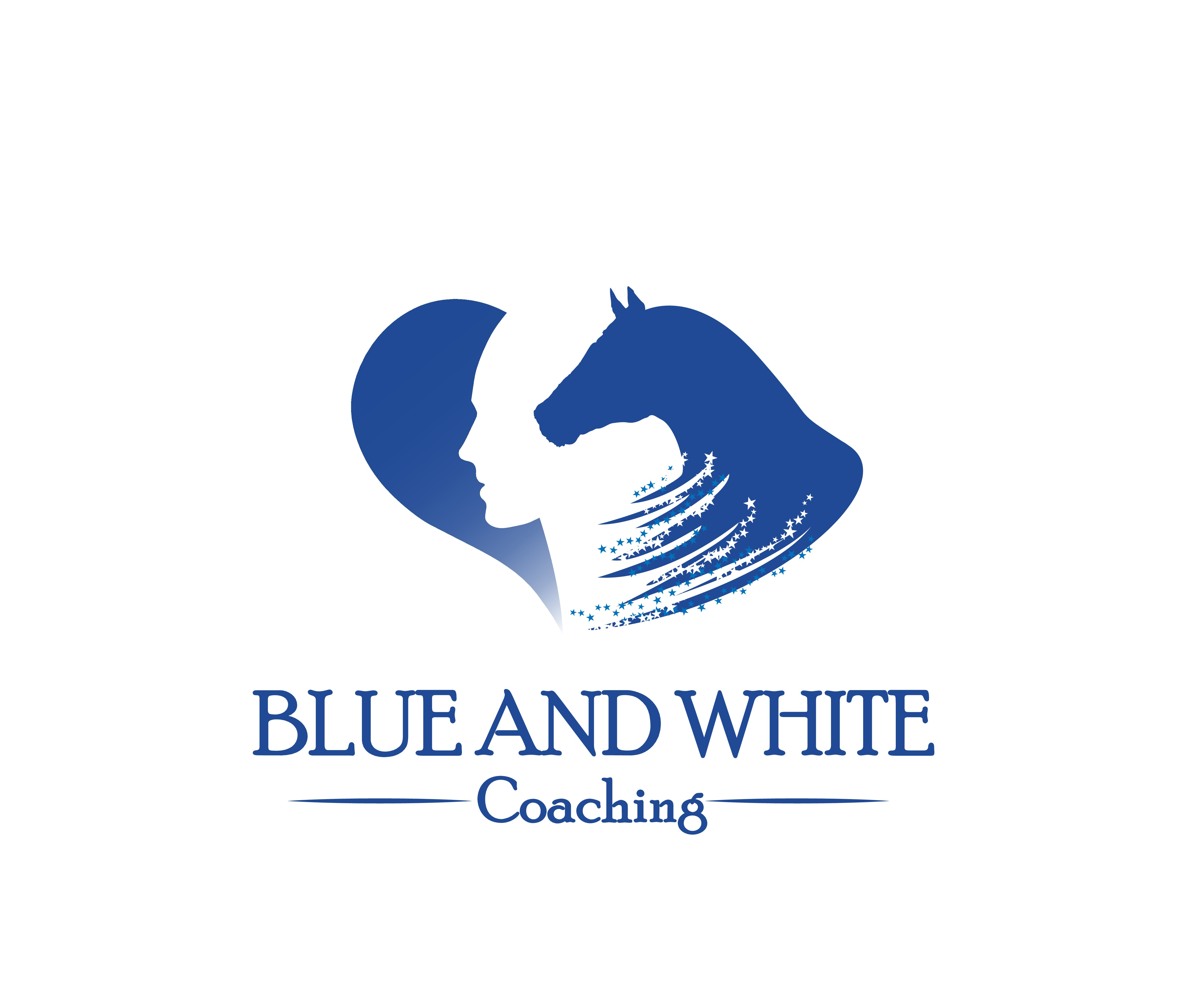 Let your soul shine through a horses heart.  Blue and White Coaching LLC