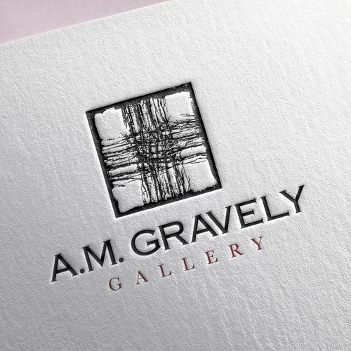 Design an image to attract everybody to come and look at the art in this local gallery.