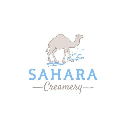 Logo for a creamery