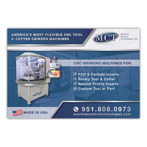 Magazine ad for CNC Tool & Cutter Grinder machines