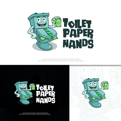Toilet Paper Hands