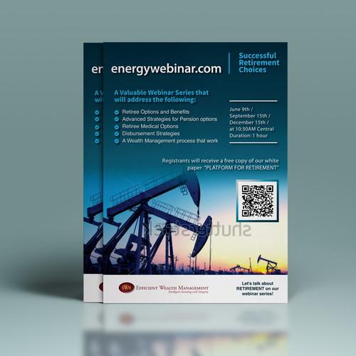Energy Webinar Half Page Flyer