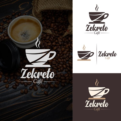 Logo for a Cafe