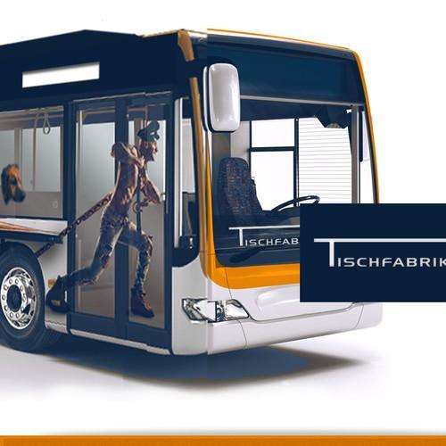Bus Advertising for Tischefabrik24