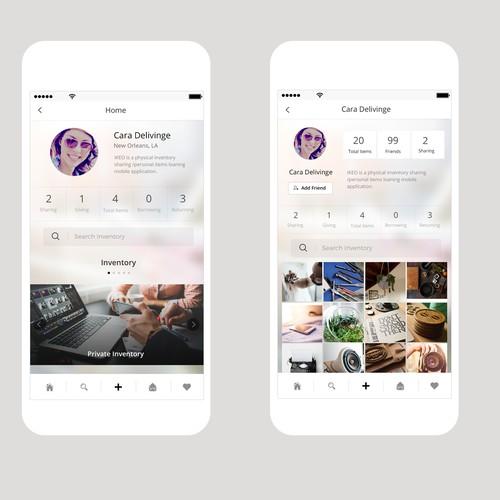 Ikeo Social Sharing App