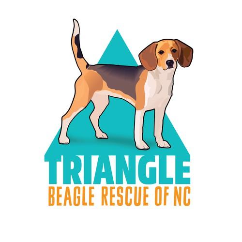 Logo for Beagle Rescue Brand