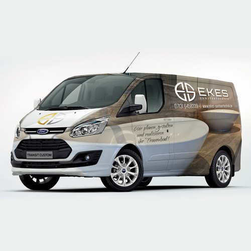 Bath design Van Wrap
