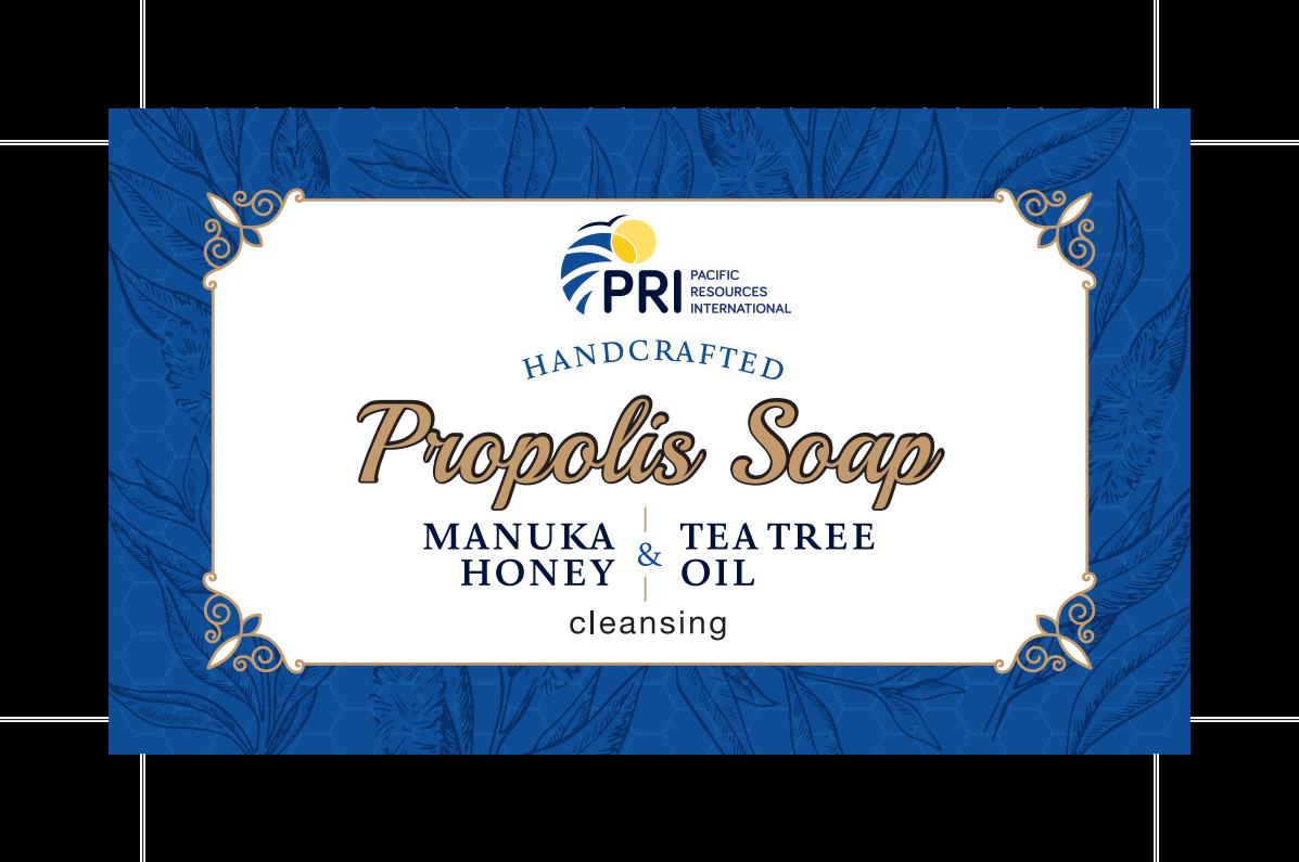 Propolis, Tea Tree and Manuka Soap