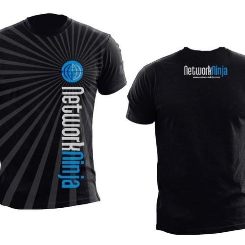 t-shirt for Network Ninja - should be fun!