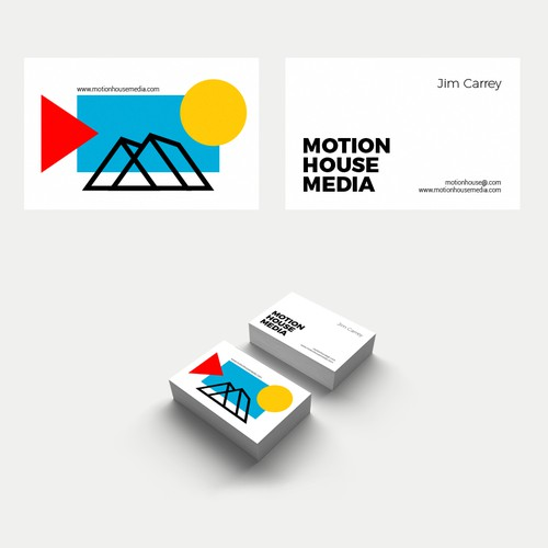 Logo and Visual Identity Design for video production brand