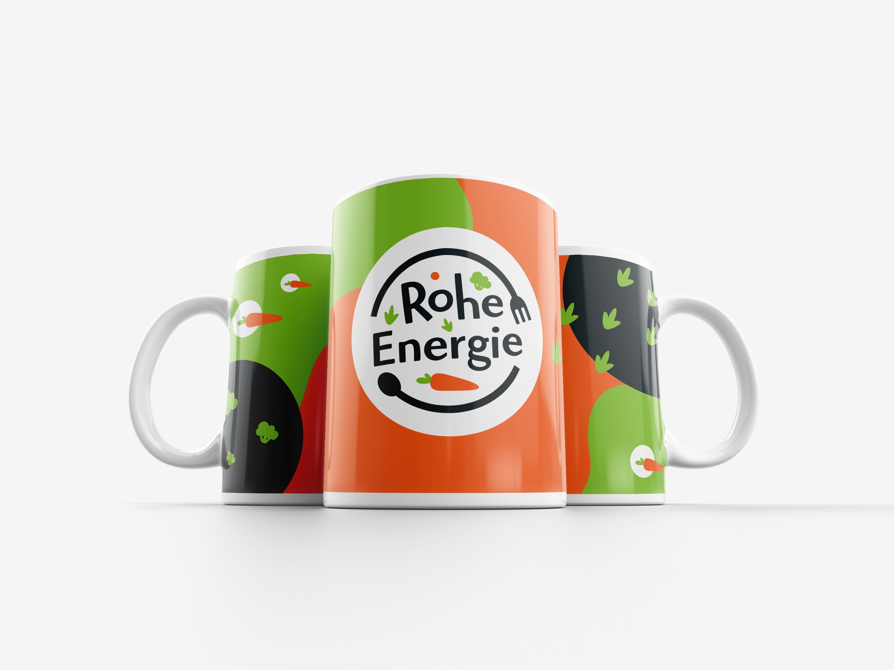 Design with our logo for a coffe cup