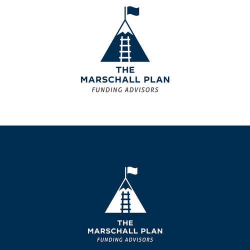 logo concept for The Marshall Plan