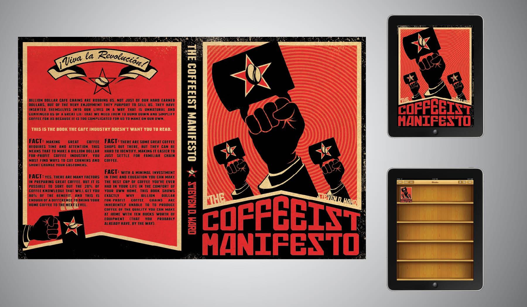 book or magazine cover for The Coffeeist Manifesto