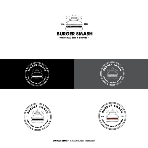 Burger Smash Logo