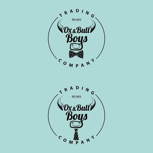 Boys NeckTie Brand Logo