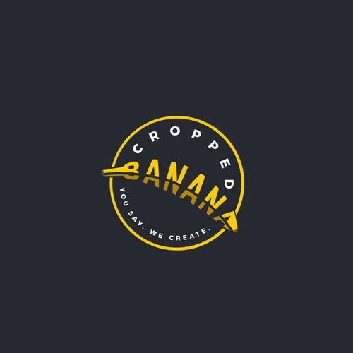 Logo design for cropped banana
