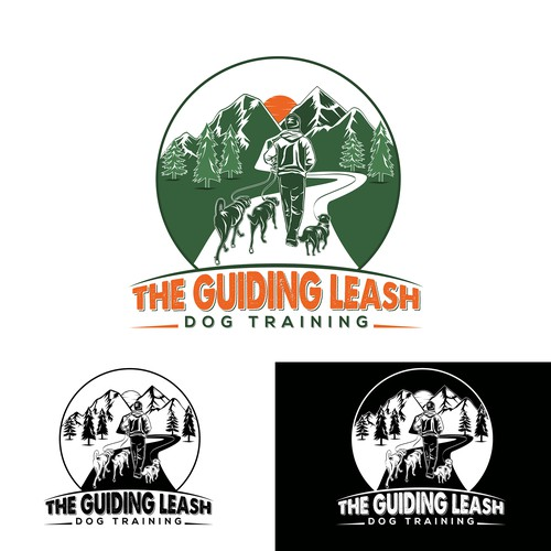 Logo for The Guiding Leash