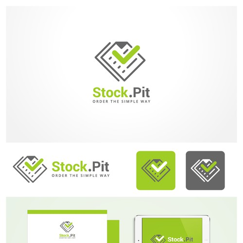 Brand identity pack proposal for an online shop, Stock.Pit