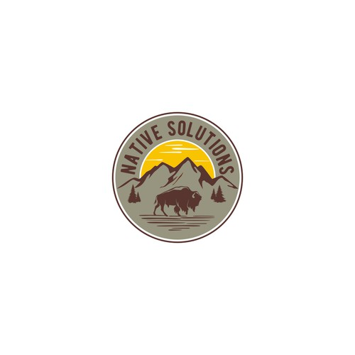 Native American Solar Logo