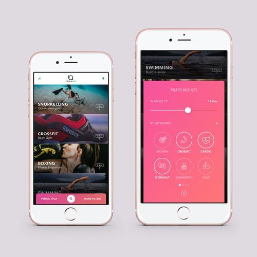 Bright pink :)