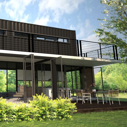 Maritime Container House Design