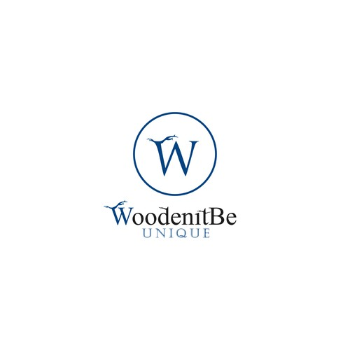 Masculine Logo for High Quality Wood Products for the American Male