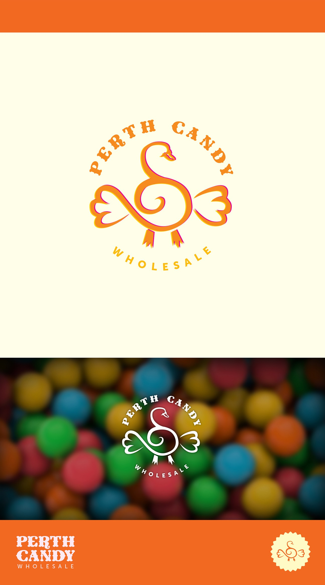 a SWEET AS logo for a SWEET company *drool*