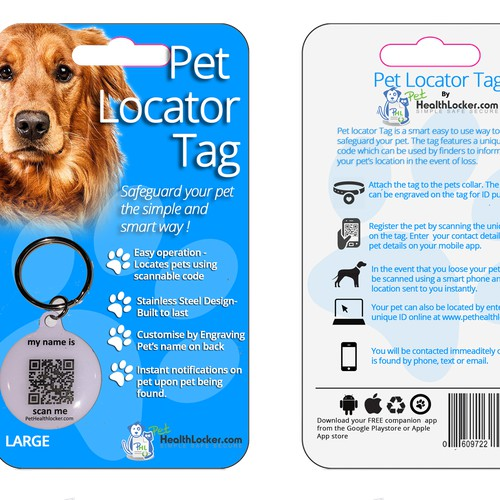 Blister pack for pet product