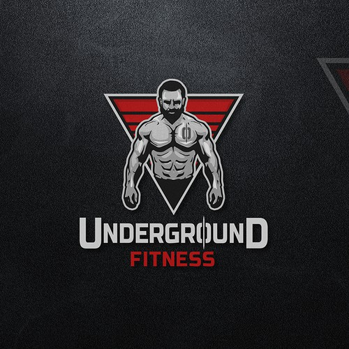UNDERGROUND FITNESS logo concept