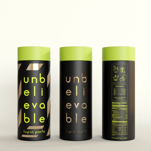 Unique, Artistic, and Eye-Catching packaging