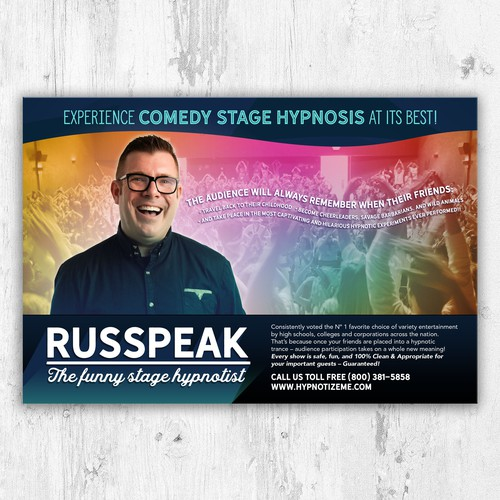 Comedy Stage Hypnosis