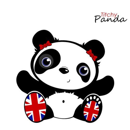 Create a cartoon/character image of a cute Panda