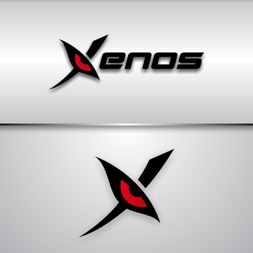 "Create a fierce logo for elite athlete group ""Xenos"""