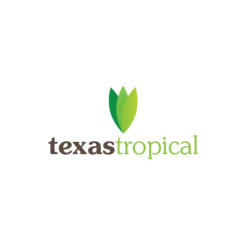 Logo for tropical plant nursery