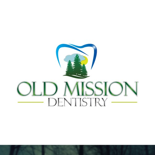 Create the next logo for Old Mission Dentistry
