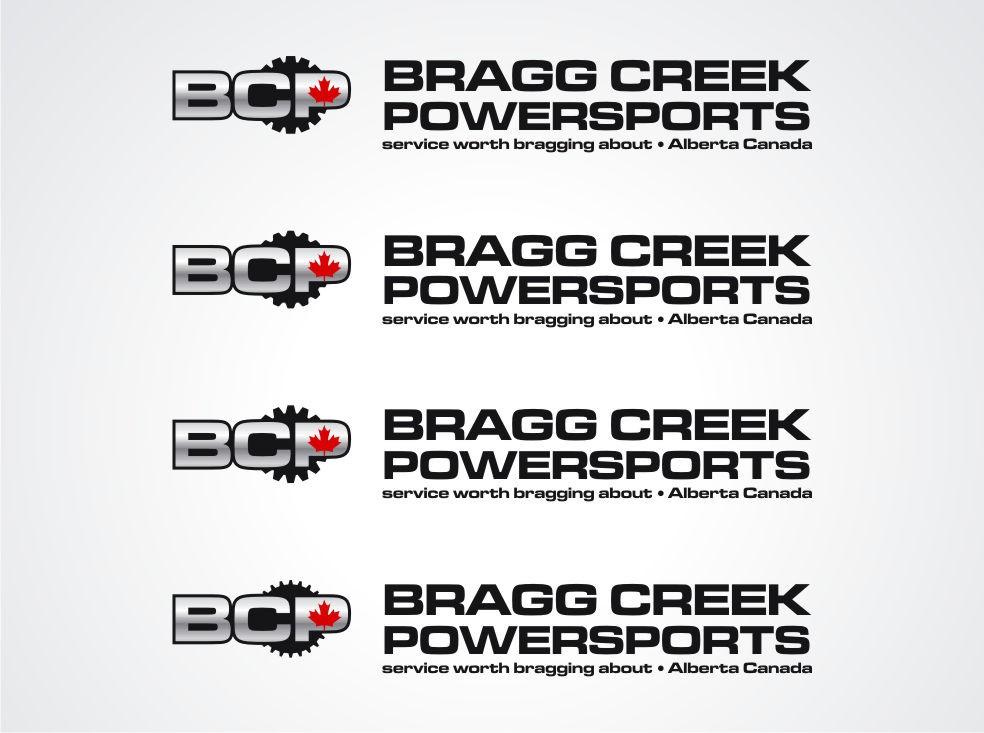 Bragg Creek Powersports needs a new logo