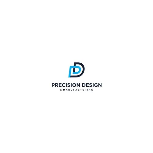 line logo concept for precision design