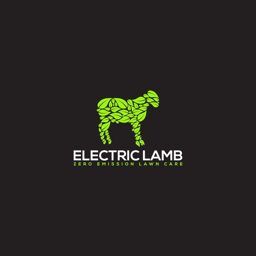 Logo concept for Electric Lamb