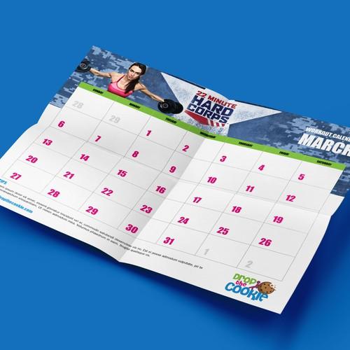 Calendar Layout - Workout Tracker PDFs
