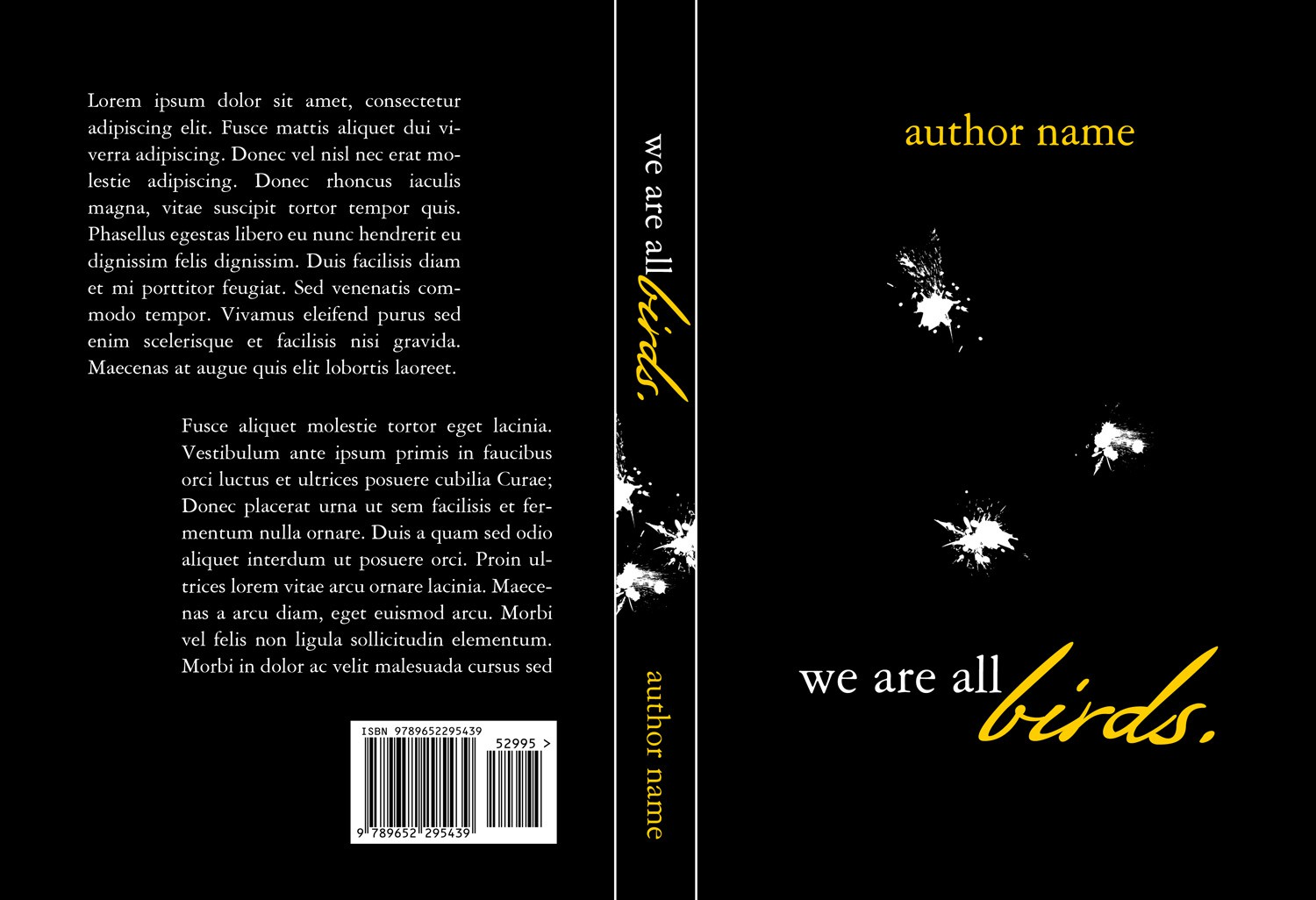 Book Cover for BH Printers' New Novel!