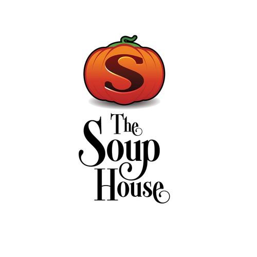 Logo concept for soup vendor